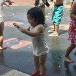 気軽に水遊びを楽しむならイオンモール広島祇園のリバーコートへ!