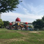 けん玉がモチーフのユニークな公園!「新宮中央公園」ってどんなところ?