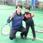 4歳から始められる♪ 東広島のスポーツクラブHAKUWAのキッズテニス