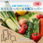 ママの強い味方!ネットスーパー&宅配スーパー!広島で利用できるサービス9選