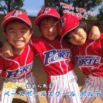 「野球って楽しい」がいっぱい♡3歳から始められるベースボールスクールポルテ