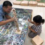 子どもの長所が見えてくる!親子で学んだ造形教室の体験活動