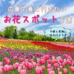【広島】春に行きたいお花スポット5選!子供と花畑に出かけよう