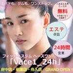 今月も来月も会費無料!? エステ併設のフィットネスジム「Vace1_24h(ベースワン)」のグランドオープンキャンペーン!
